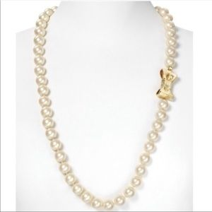 Kate Spade All Wrapped Up Long Pearl Necklace